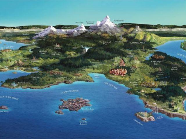 Você é mais da Ilha dos Perdidos ou mais Auradon?