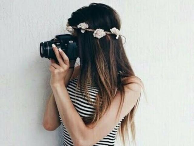 Crie sua sessão de fotos!