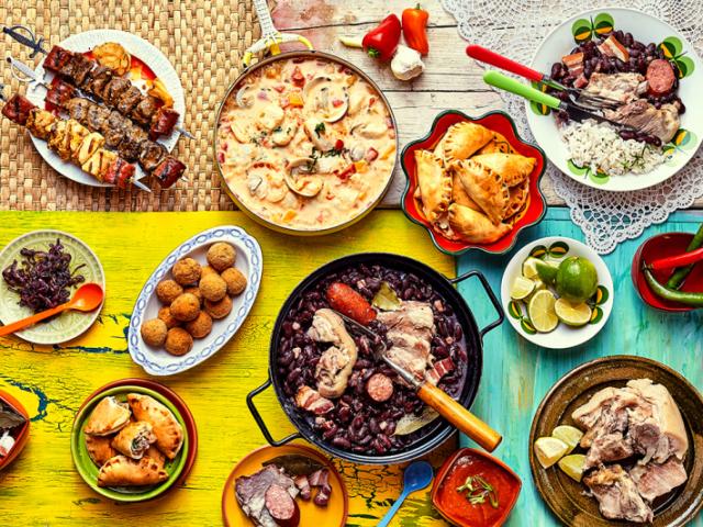 Você consegue acertar a qual país essas comidas pertencem?