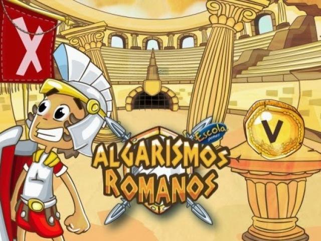 Quiz sobre Algarismos Romanos!