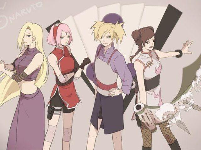 Qual menina de Naruto seria sua namorada?