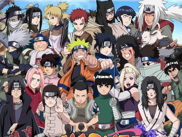Quiz Naruto Clássico e Shippuden!