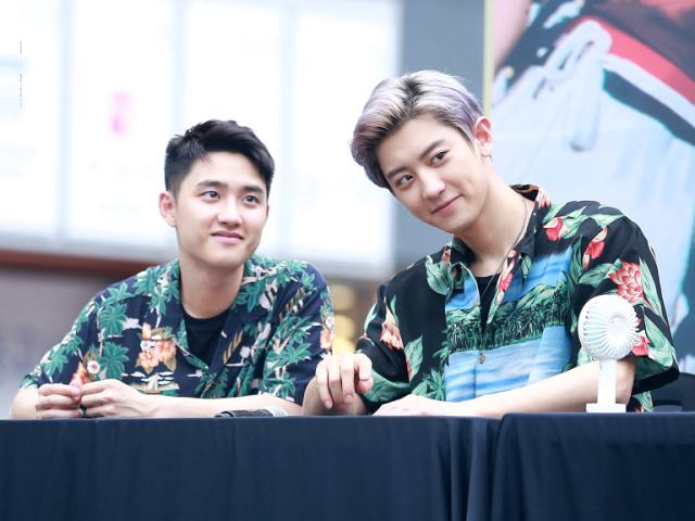 Quais couples você conhece do EXO?