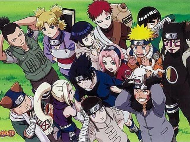 Quiz Naruto Clássico