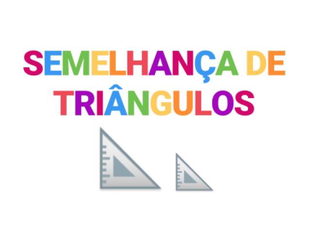 Quiz sobre Semelhança de Triângulos
