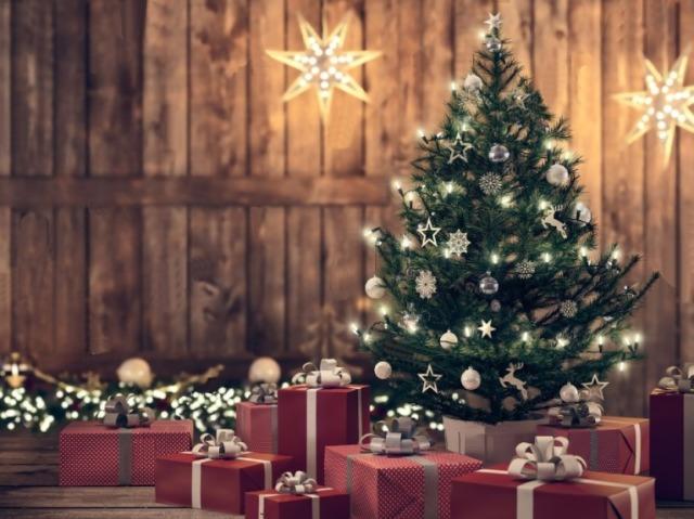 Monte sua árvore de Natal e lhe mostraremos qual será o seu presente!