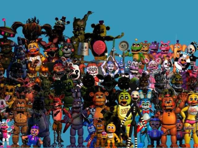 Quiz bem complicado de Five Night's At Freddys, será que você consegue acertar tudo?