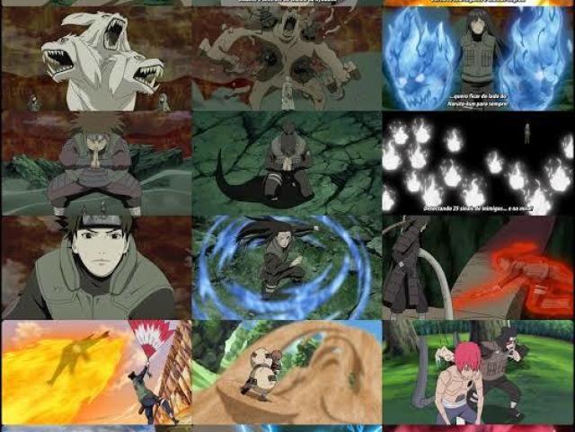 Qual sua especialidade em Naruto?