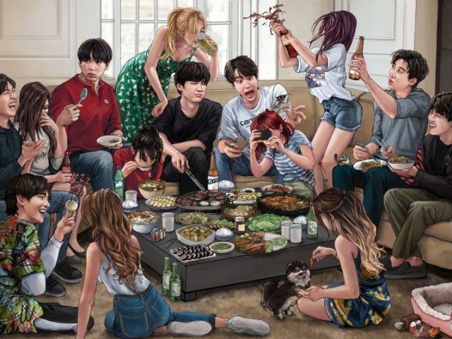 Você é o tipo ideal de qual membro do BTS?