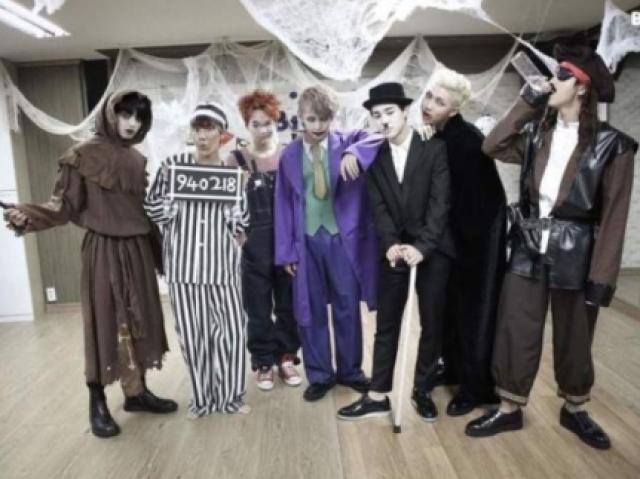 Com quem do BTS você vai passar o Halloween?