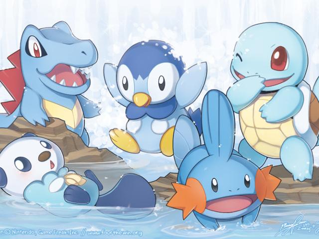 Qual Pokémon iniciante de água você seria?