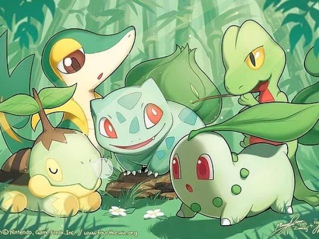 Qual Pokémon iniciante de grama você seria?