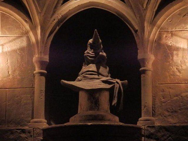 Qual a sua casa da escola de magia e bruxaria de Hogwarts?