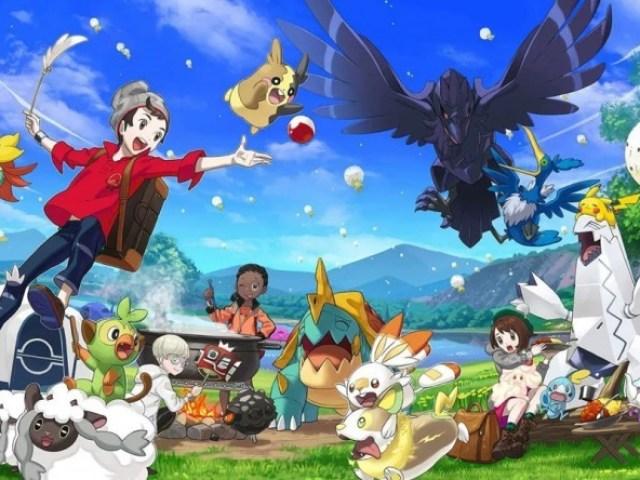 Você conhece a região Pokémon Galar?