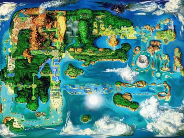 Você conhece tudo sobre a região Pokémon de Hoenn?