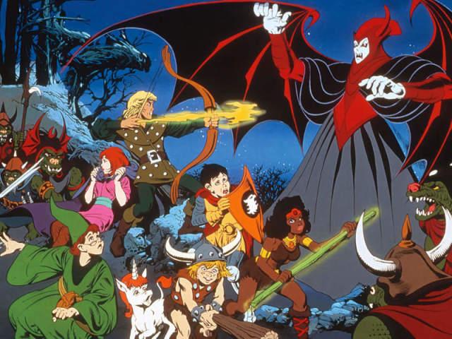 """Quem você seria em """"Caverna do Dragão""""?"""