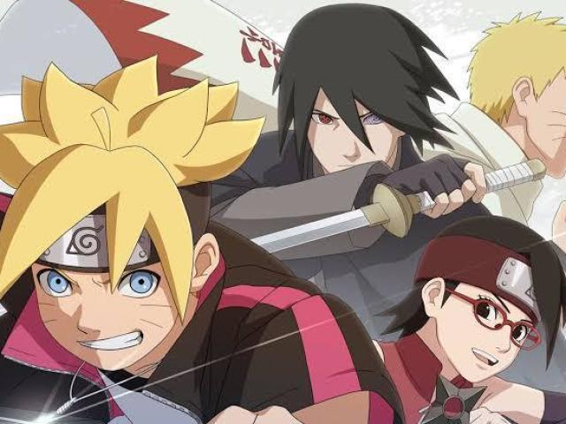 Quem você seria em Naruto/Boruto?