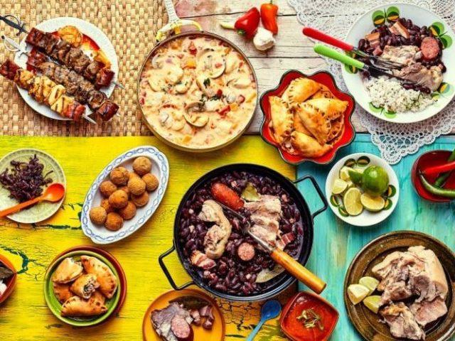 Monte as suas refeições e diremos para qual país deveria viajar!