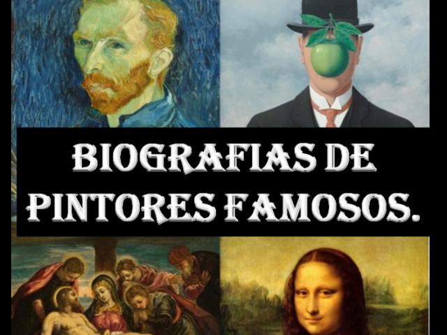 Será que você conhece um pouco a vida desses pintores famosos?