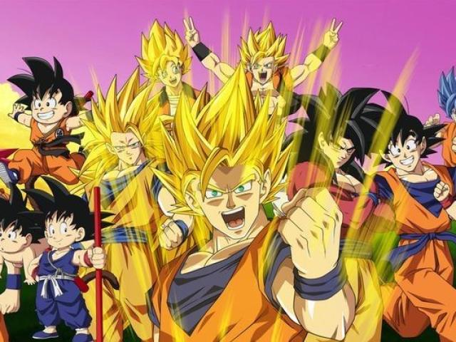 Você conhece todas as transformações de Dragon Ball?