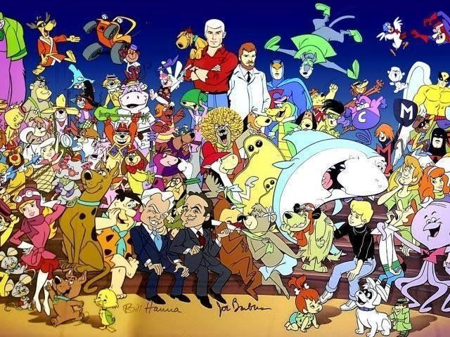 Você consegue identificar os personagens dos desenhos animados?