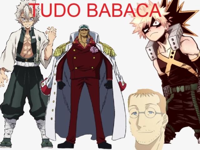 Qual personagem babaca de anime você seria?