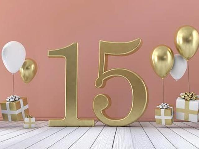 Crie sua Festa de 15 anos!