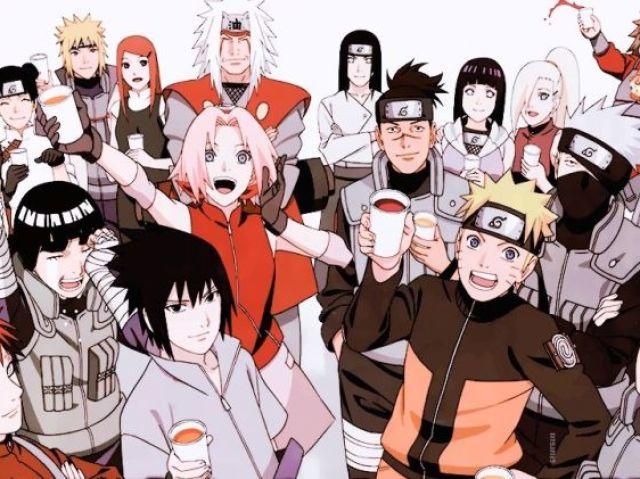 Qual a sua família em Naruto? Versão 2.0