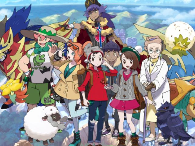 Qual dos personagens de Pokémon Sword e Shield você seria?