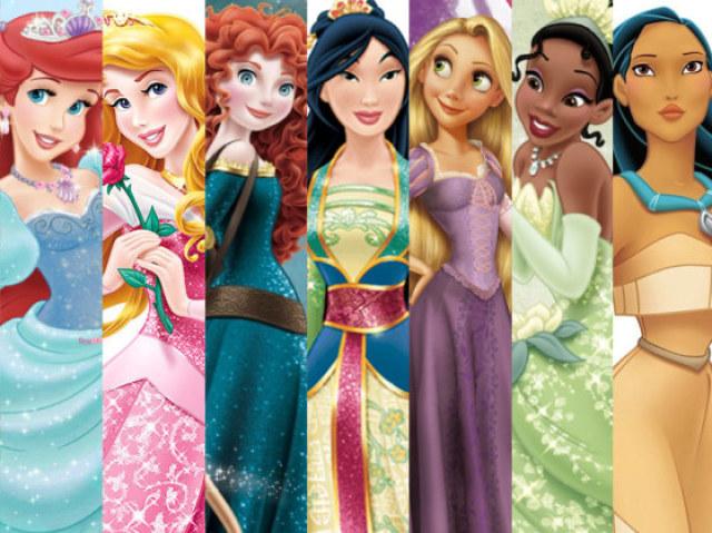 Monte seu look e descubra qual princesa da Disney você seria!