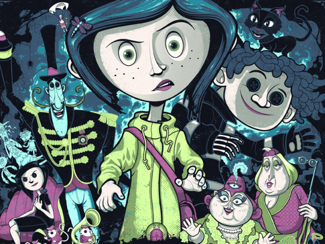"""Você Conhece o Filme """"Coraline e o Mundo Secreto""""?"""