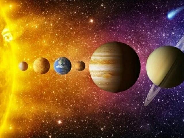 O que você aprendeu sobre o sistema solar?