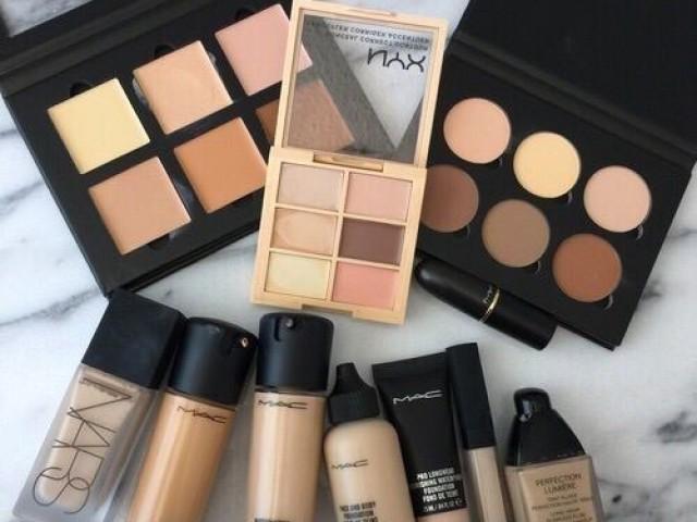 Monte seu kit de maquiagens!