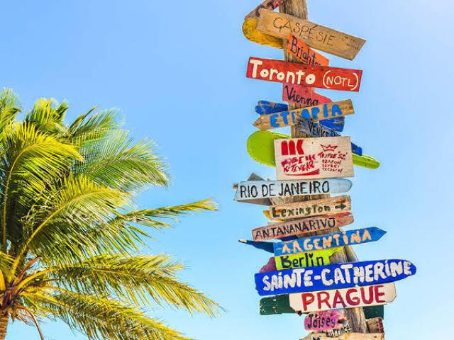 Para onde você vai nessas férias?