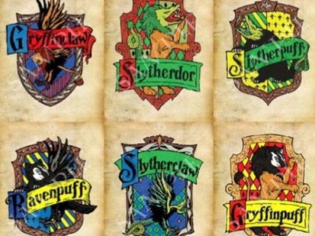 Qual sua casa híbrida de Hogwarts?