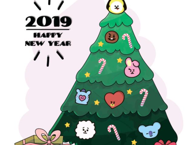 Monte sua arvore de Natal e descubra quem do BTS vai passar a festa com você!