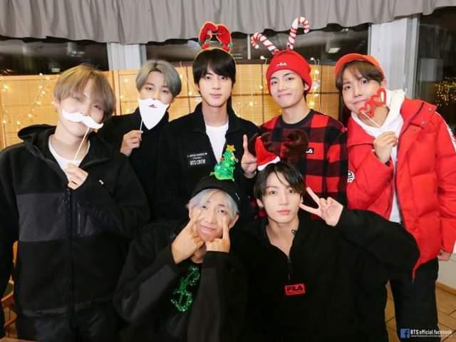 O que você ganharia de presente de natal do BTS?
