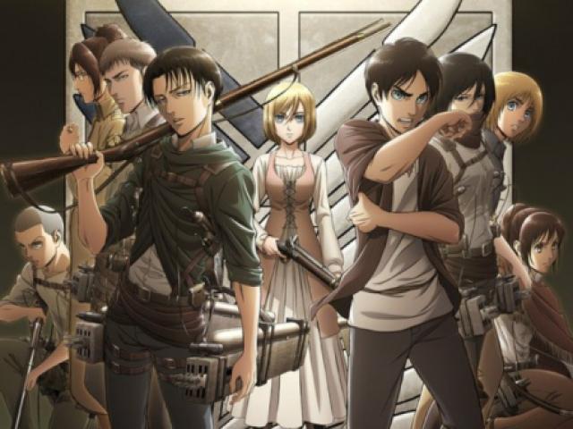 Quem você séria em Shingeki no Kyojin?