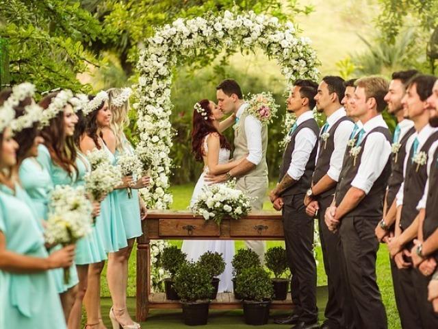 Monte sua festa de casamento
