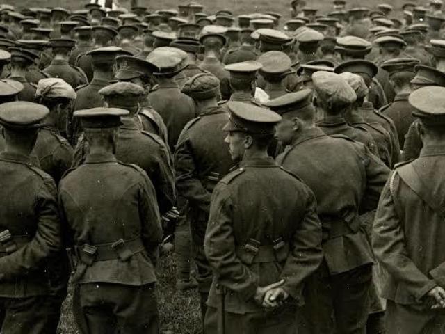Quanto tempo você duraria no meio da Primeira Guerra Mundial?
