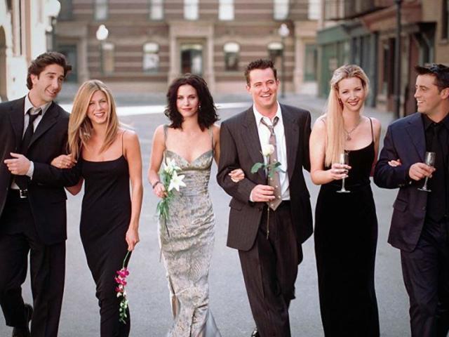 Quem você namoraria em Friends?