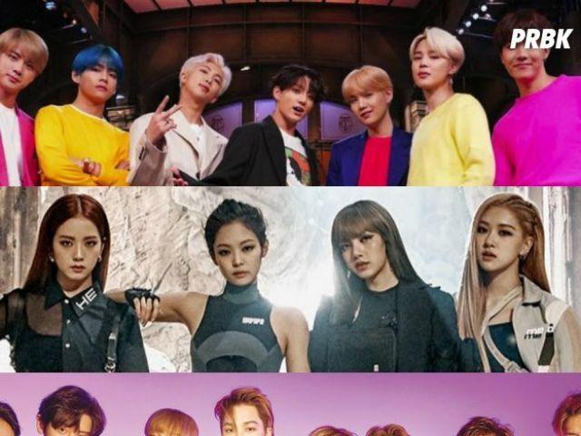 Crie seu grupo de k-pop!