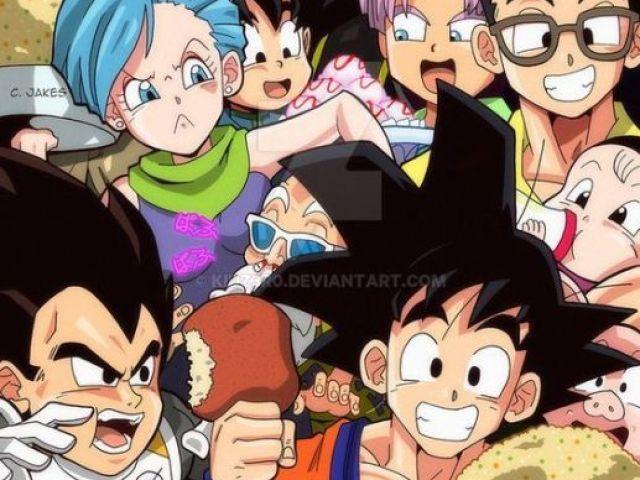Você sabe tudo sobre Dragon Ball Clássico, Z, Gt e Super?