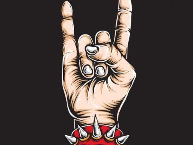 Quem é esse artista do rock?