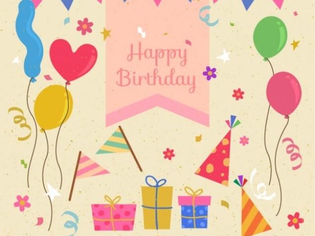 Monte o dia da sua festa de aniversário!