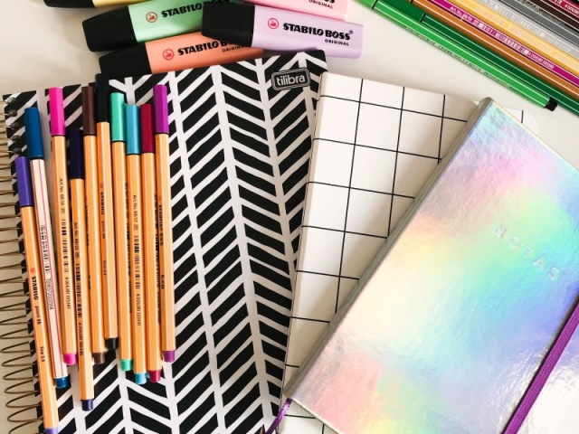 Monte seu material escolar 2020!