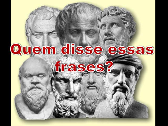 Frases Famosas: Quem disse essas frases?