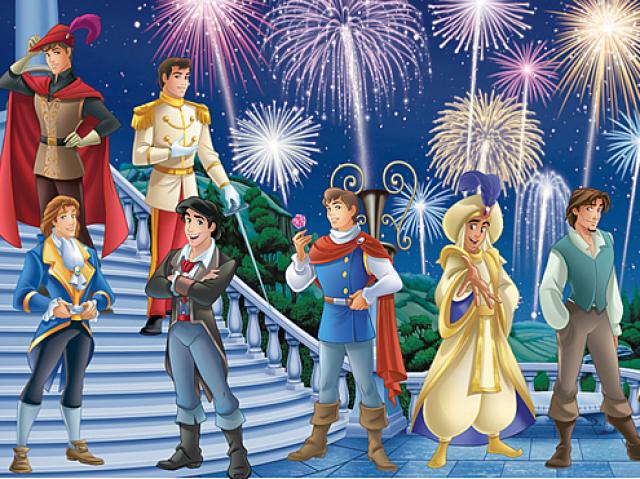 Monte seu casamento e diremos com qual príncipe da Disney você se casaria!