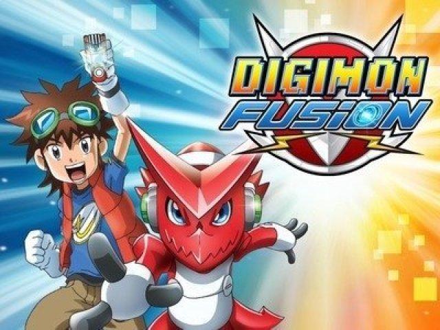 Qual seria o seu parceiro Digimon em Digimon Fusion?