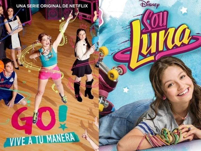 """Você é mais """"Sou Luna"""" ou """"Go! viva do seu jeito""""?"""